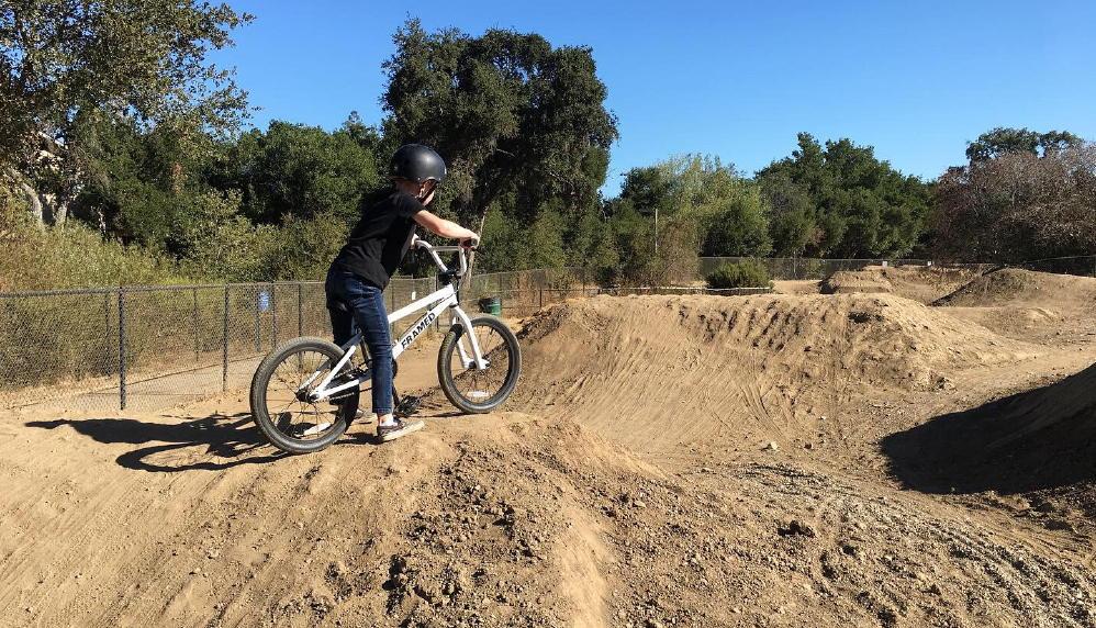 Calabazas bmx track framed bike for kids