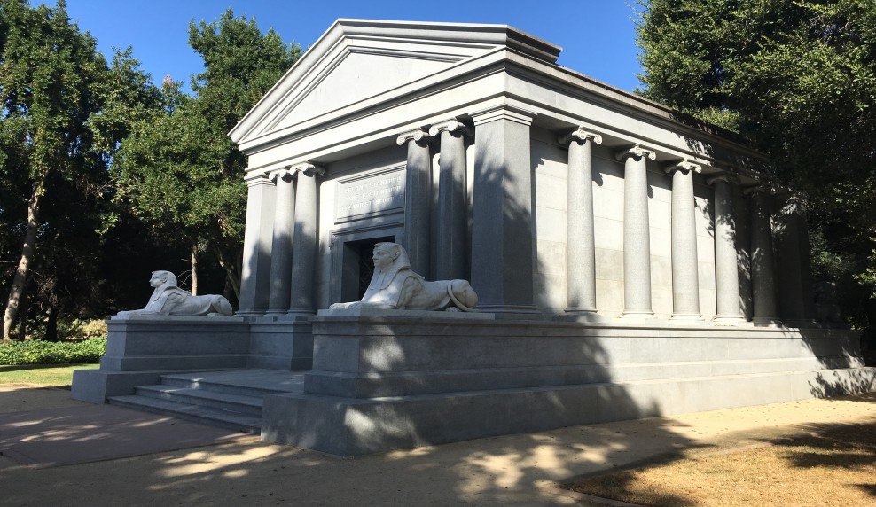 Stanford Mausoleum tomb