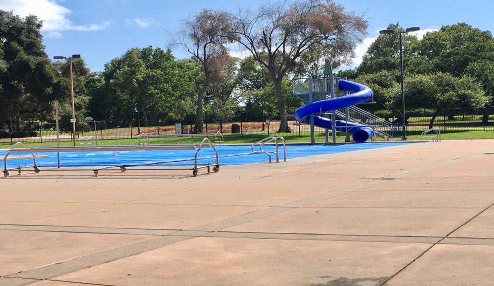 Rengstorff Park pool slide